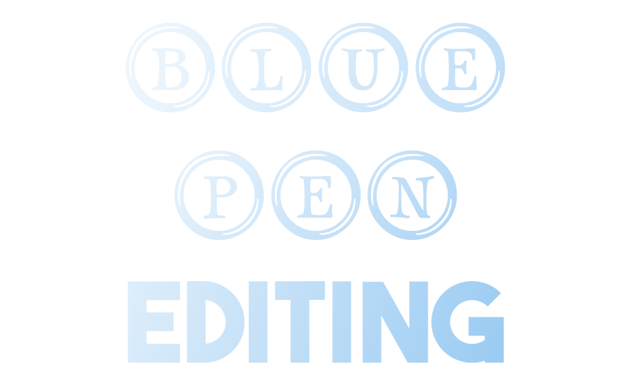 Blue Pen Editing - Professional Book Editor