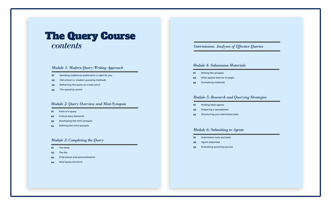 The Query Course Contents